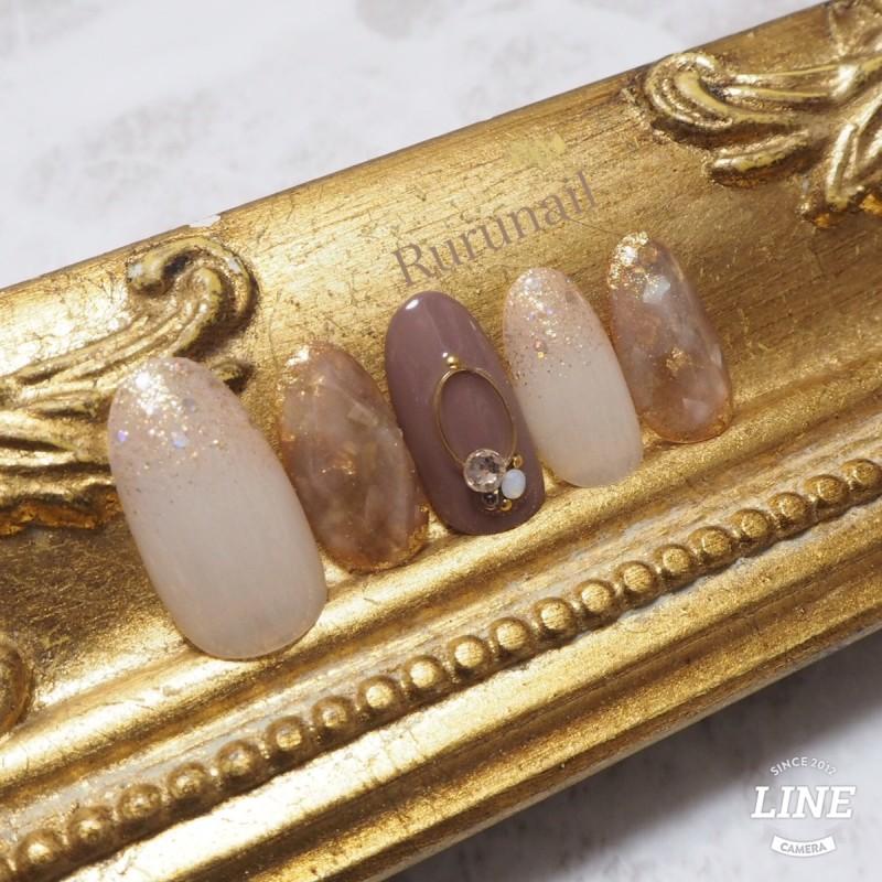 画像3: 天然石とトレンド宝石の美爪ネイルチップ(079