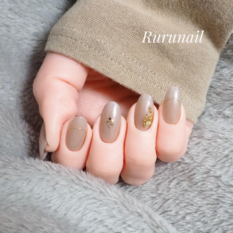 画像1: シンプル美爪ミラーネイルチップ(512)